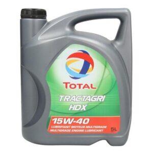 Минеральное моторное масло TOTAL TRACTAGRI HDX 15W-40 Моторные масла Моторные масла