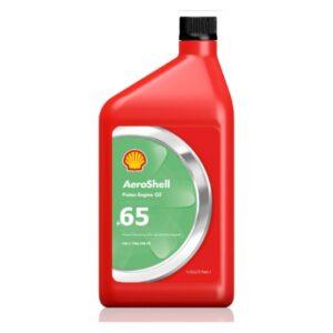 Масло для поршневых двигателей Aeroshell Oil 65 Масла и смазки Моторное авиационное масло для поршневых двигателей