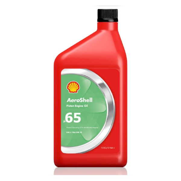 Масло для поршневых двигателей Aeroshell Oil 65