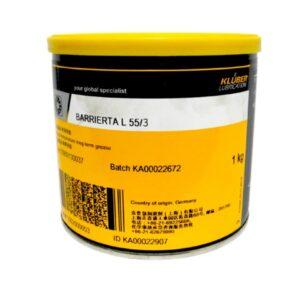 Kluber Barrierta L 55/3 Масла и смазки ищут Kluber Barrierta L 55/3