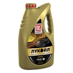 LUKOIL LUX SAE 5W-30, API SL / CF Масла и смазки _ синтетическое моторное масло