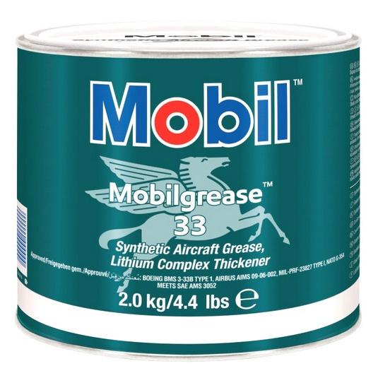 Авиационная смазка Mobilgrease 33