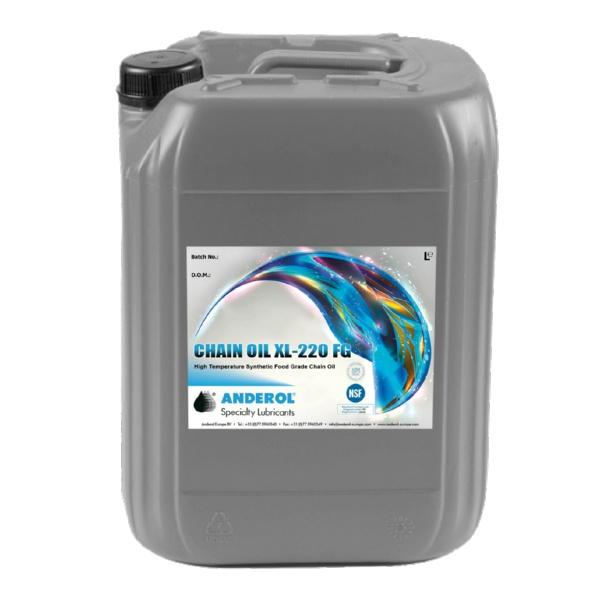Anderol  CHAIN OIL XL 220 FG Индустриальные масла масло на основе синтетического эфира