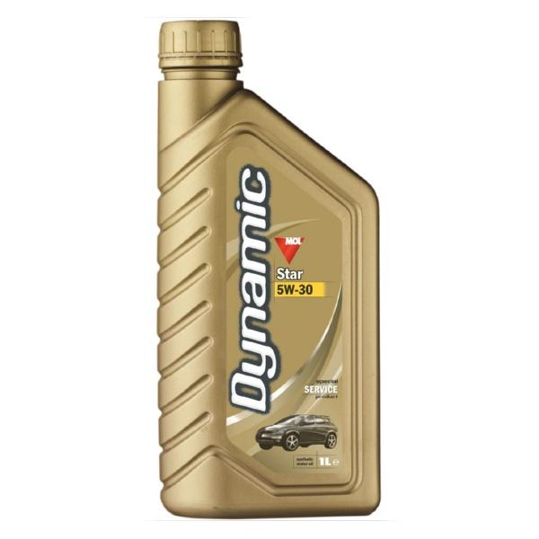 MOL Dynamic Star 5W-30 Моторные масла _ синтетическое моторное масло
