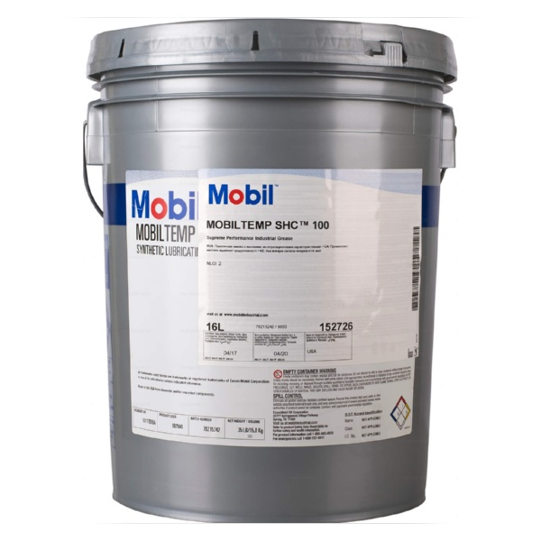 Mobiltemp SHC 100 Индустриальные смазки [tag]