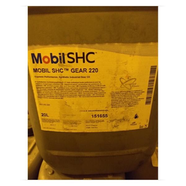 Масло Mobil SHC GEAR 220 Редукторное масло [tag]