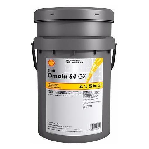 синтетическое редукторное масло Shell Omala HD