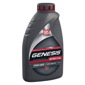 ЛУКОЙЛ GENESIS SPECIAL FE 0W-20 Масла и смазки всесезонное полностью синтетическое моторное масло