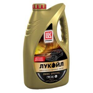 ЛУКОЙЛ ЛЮКС SPECIAL 5W-40 Масла и смазки всесезонное полностью синтетическое моторное масло