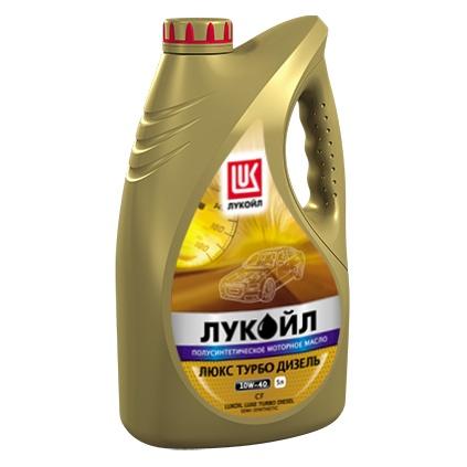 ЛУКОЙЛ ЛЮКС ТУРБО ДИЗЕЛЬ API CF