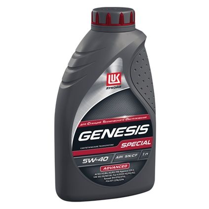 ЛУКОЙЛ GENESIS SPECIAL ADVANCED 5W-40